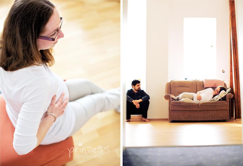 Babybauchfotografie Freiberg 1