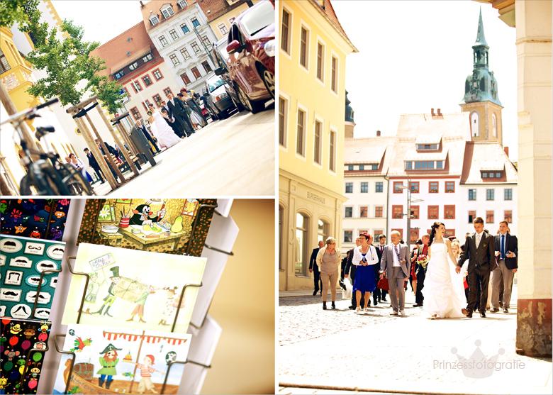 Hochzeitsfotograf unterwegs in Freiberg