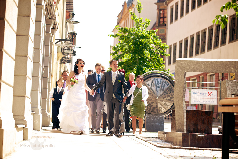 Hochzeitsfotografie Freiberg