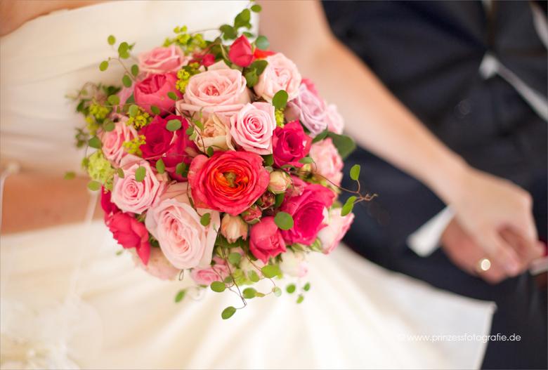 Hochzeitstrauss pink pastel