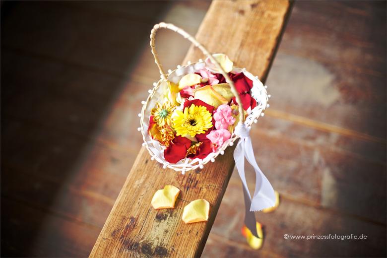 Streukörbchen Hochzeit