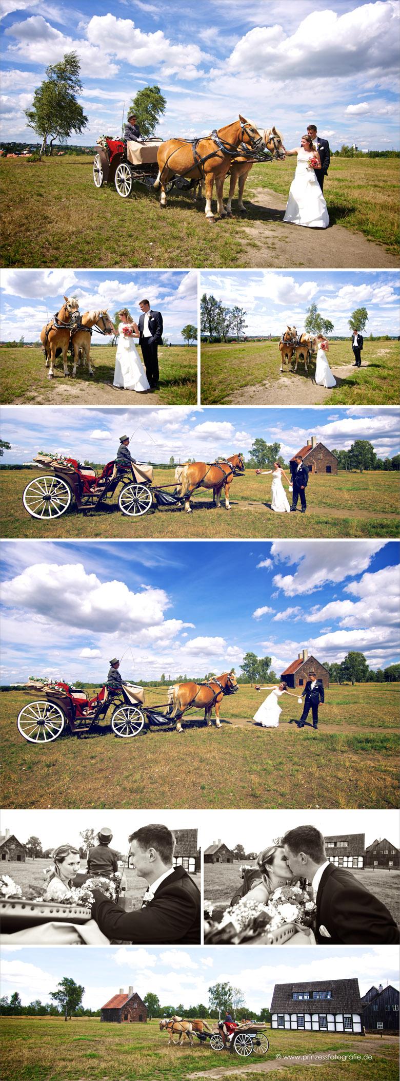 Hochzeitskutsche Freiberg