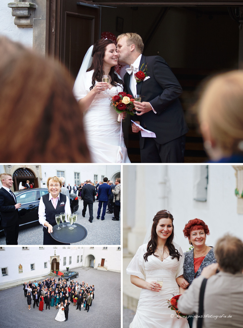 Hochzeit Schloß Purschenstein