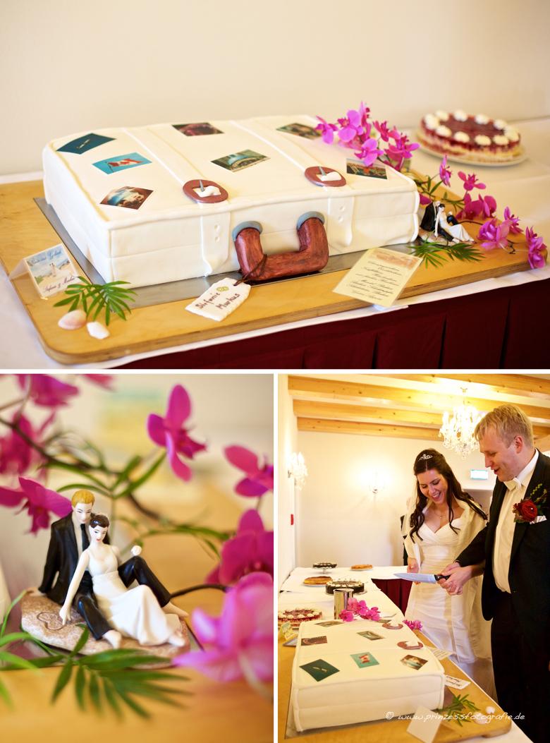 Hochzeitstorte Koffer