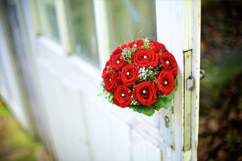 Hochzeitsstrauss Rosen