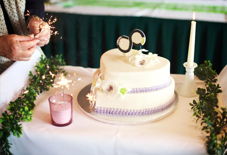 Hochzeitstorte Bäckerei Auerbach FG