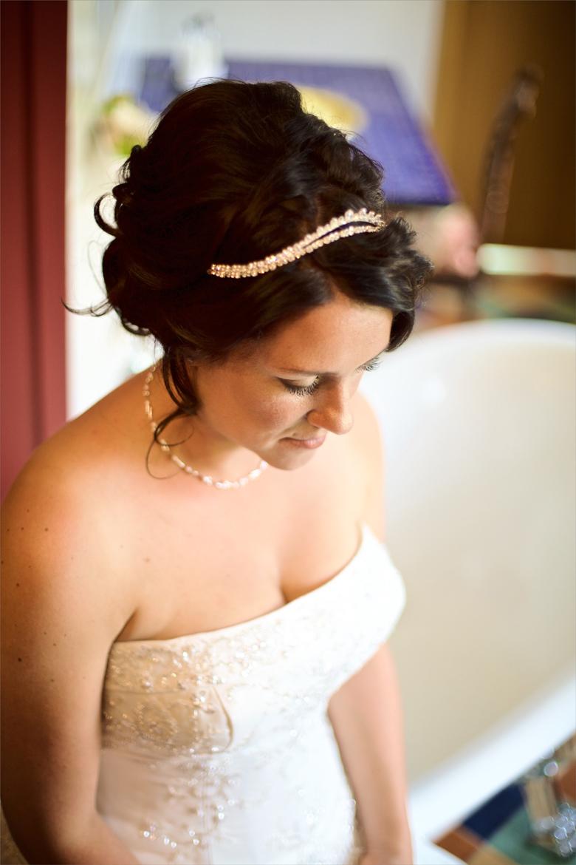 Prinzessfotografie Ankleiden Hochzeit