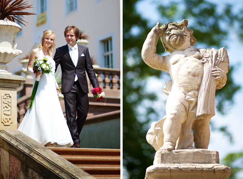 Hochzeitsbilder Schloß Lichtenwalde