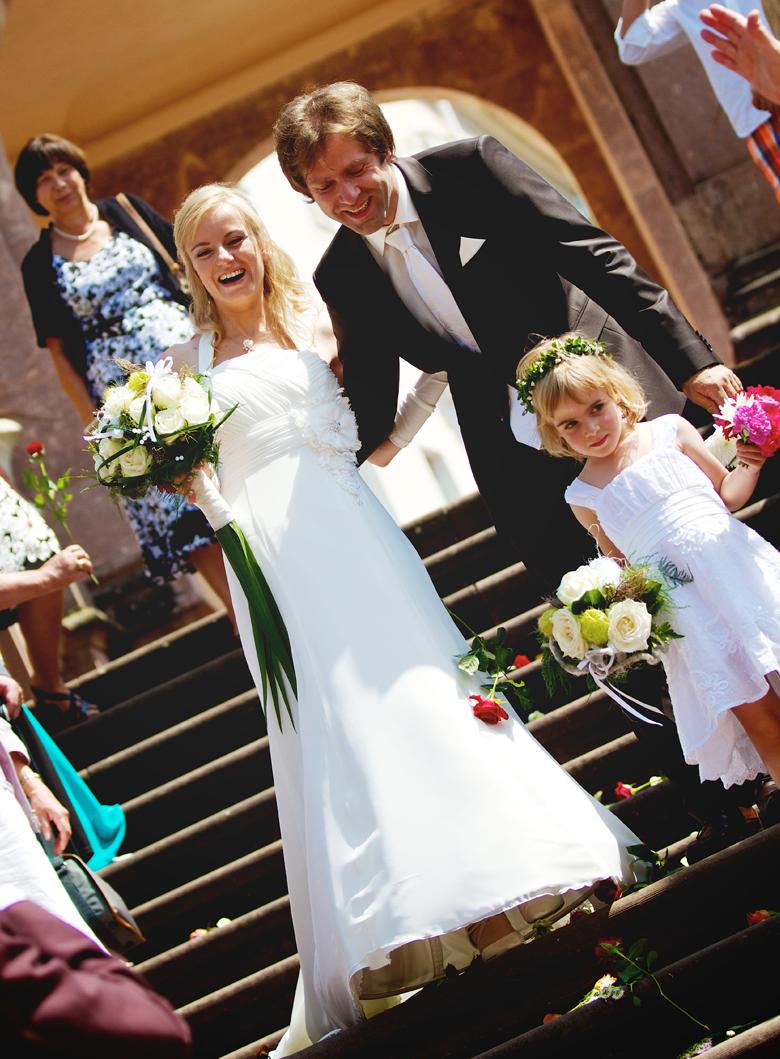 Hochzeitsfotos Schloß Lichtenwalde