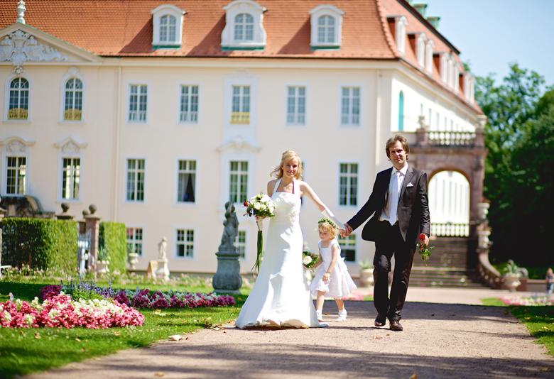 Hochzeitsreportage Schloß Lichtenwalde