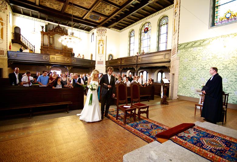 Kirchliche Trauung Niederwiesa